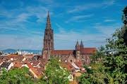 Freiburg Minster, Münsterplatz, Freiburg im Breisgau, Germany