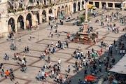 Marienplatz, Marienplatz, Munich, Germany