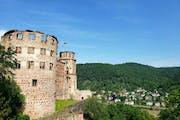Heidelberg Castle, Schlosshof, Heidelberg, Germany