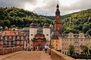 Old Bridge Heidelberg, Am Hackteufel, Heidelberg, Germany