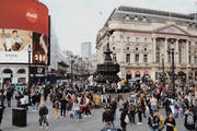 Piccadilly Circus, London, UK