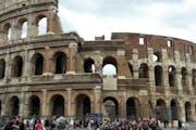 Colosseum, Piazza del Colosseo, Rome, Metropolitan City of Rome