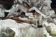 Trevi Fountain, Piazza di Trevi, Rome, Metropolitan City of Rome