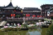Yu Garden, Huangpu, Shanghai, China