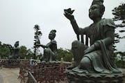 Tian Tan Buddha, Ngong Ping Road, Lantau Island, Hong Kong