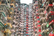 Yick Fat Building, King's Road, Quarry Bay, Hong Kong