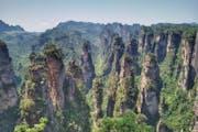 Zhangjiajie National Forest Park, Wulingyuan District, Zhangjiajie, Hunan