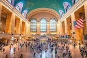 Grand Central Station Entrance - 48th & Park Ave, New York, NY, USA