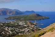 Vulkano vulkanı, Lipari, Province of Messina, Italy