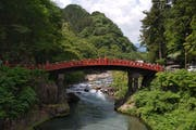 Shinkyo Bridge, Sannai, 上 鉢 石 町, Nikko