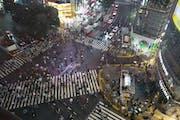 Shibuya Crossing, 2 Chome, 2-1, Dogenzaka