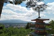 Chureito Pagoda, 3353-1 Arakura, Fujiyoshida, Yamanashi
