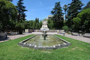 Plaza España, Mendoza, Mendoza Province, Argentina