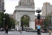 Washington Square Park, New York, NY, USA