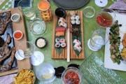 "Moraira: Dinner at ""Bambula"", Javea"