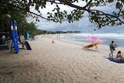 Kuta:  Visit the beach and Kuta