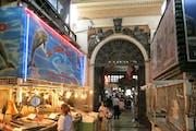 Central Market, San Pablo, Santiago, Chile