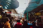 Chatuchak Weekend Market Entrance 2, Chatuchak, Bangkok, Thailand