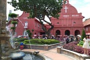 Windmill Dutch Square Melaka, Bandar Hilir, Malacca, Malaysia