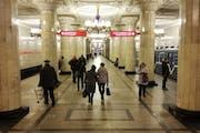 Petersburg Metro, Moskovskiy Prospekt, Saint Petersburg, Russia