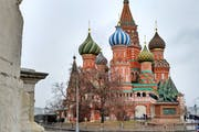 St. Basil's Cathedral, Red Square, Moscow, Russia